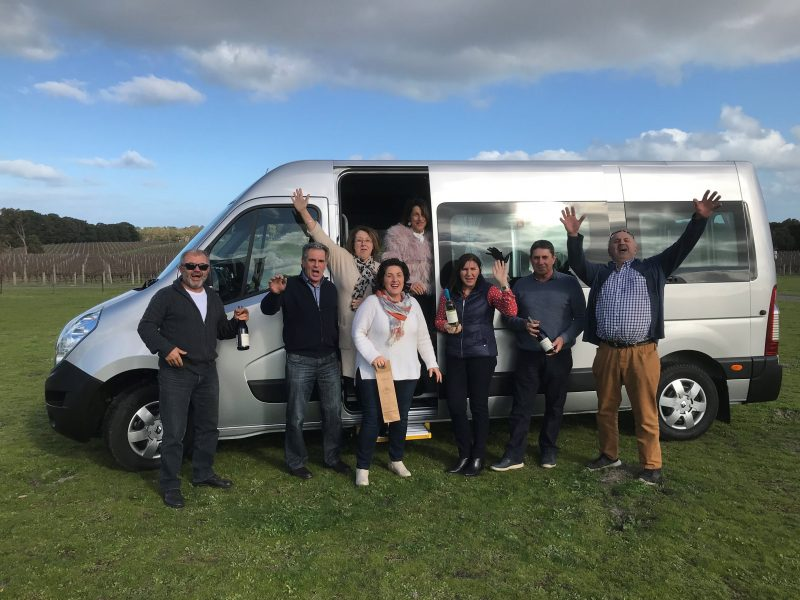 Out & About Minibus Hire edit - Wine Day Out