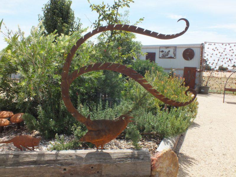 Lyrebird Sculpture