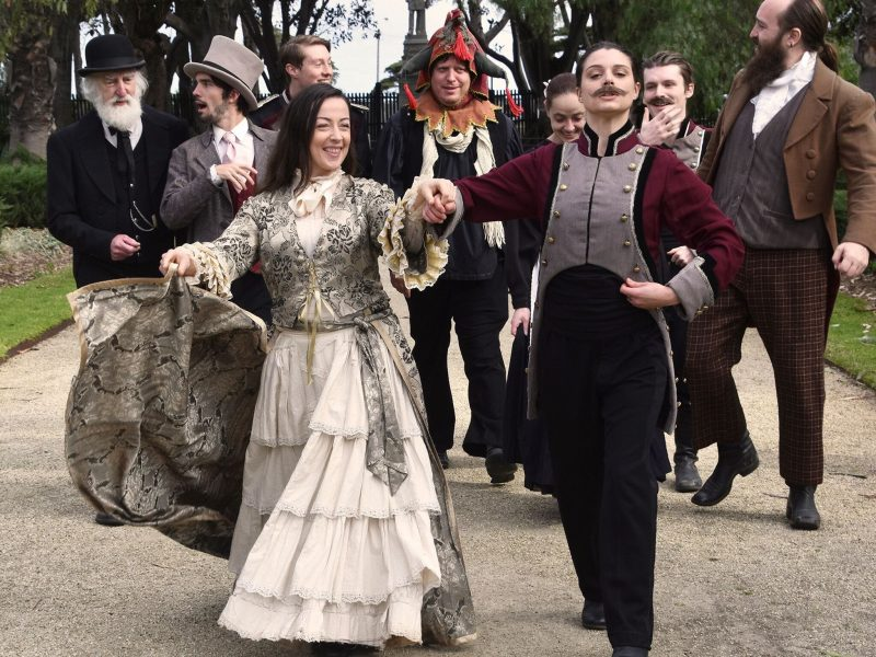 Ozact's Twelfth Night at Coolart Homestead and Wetlands Cast