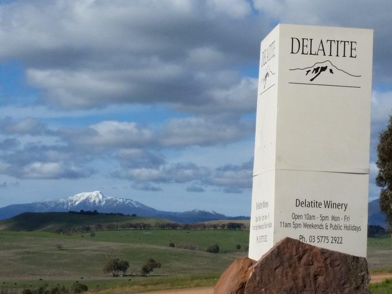 Delatite Wines Sign