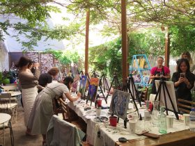 painting, socialise, fun, yarra valley