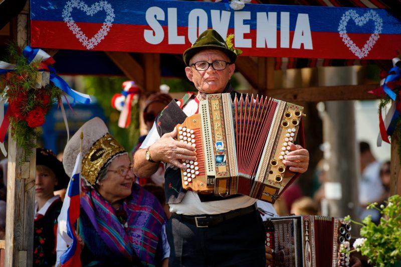 Parade - Slovenian Community