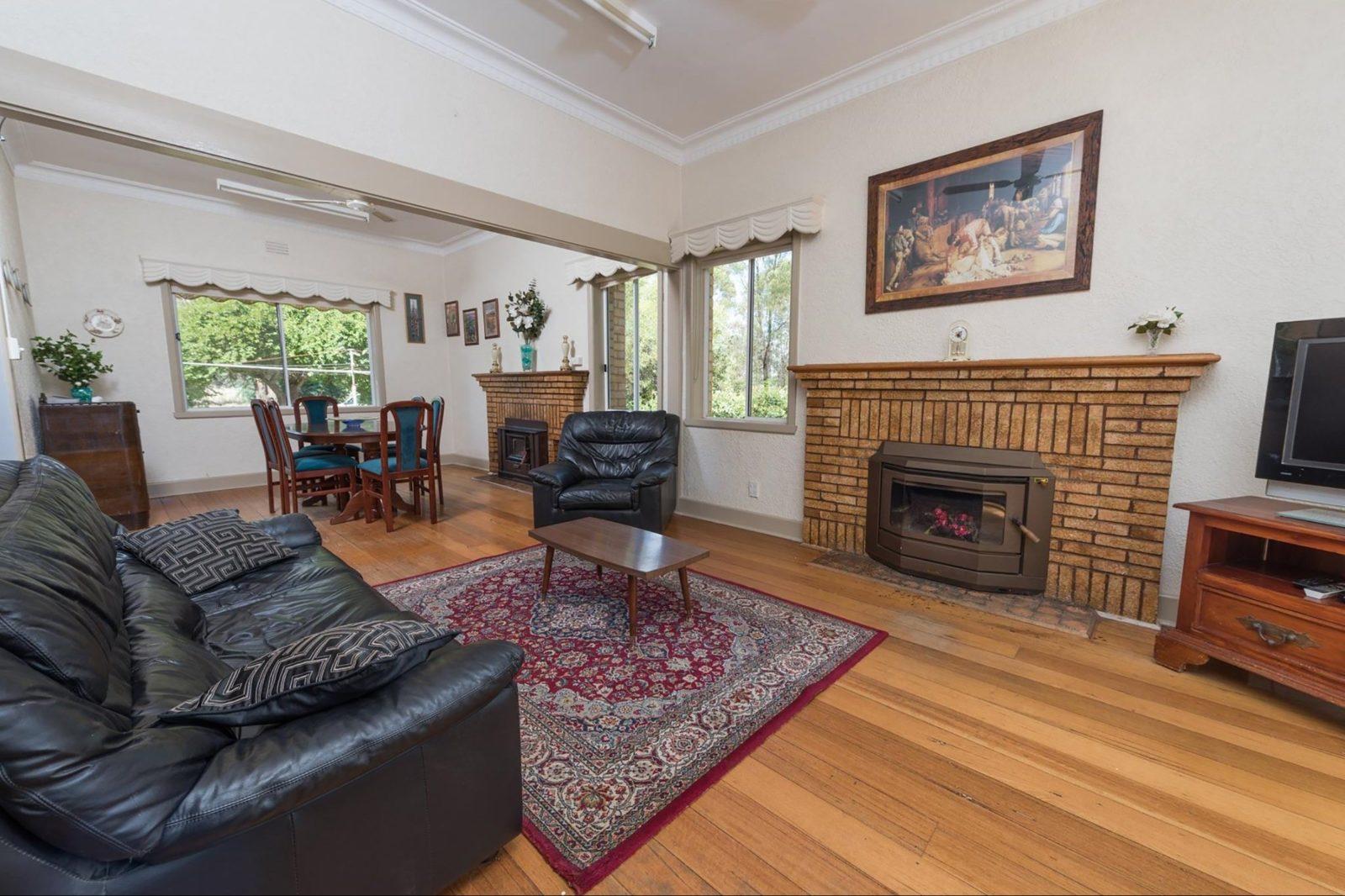 Parklands Retreat Living Room