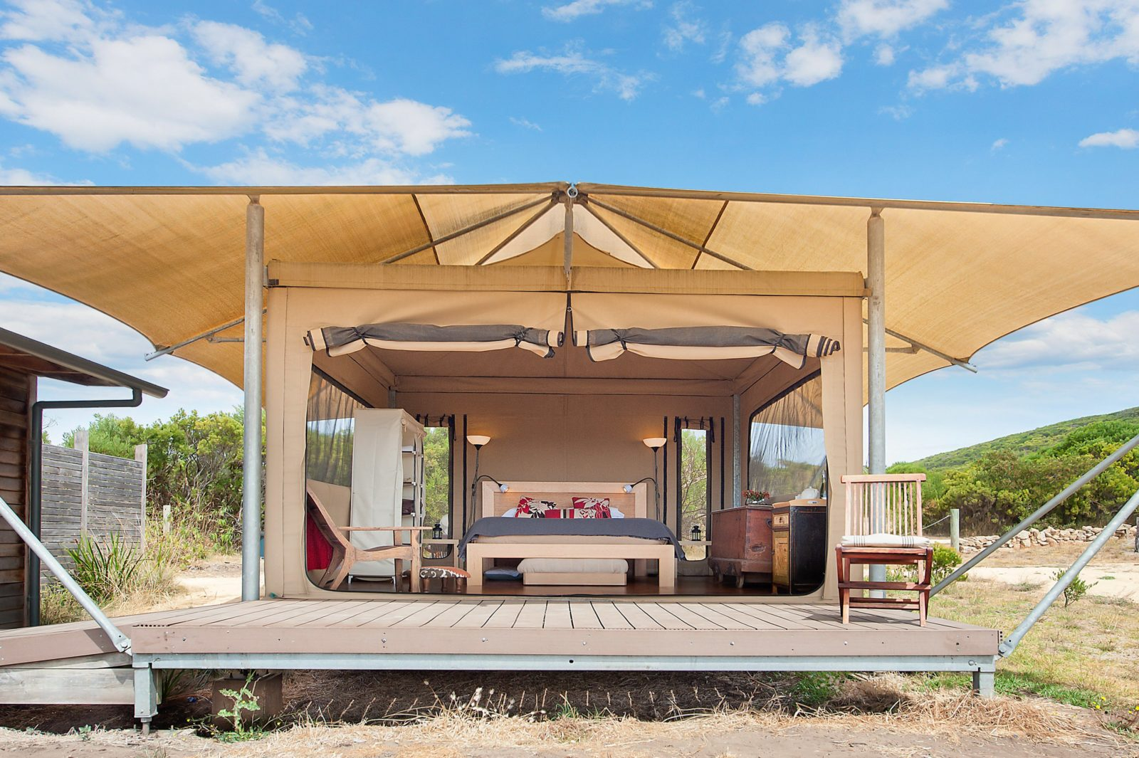 Pebble Point Glamping Tent