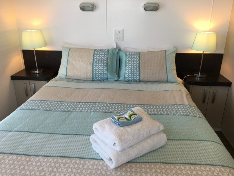Double bedroom accommodation at the Villa
