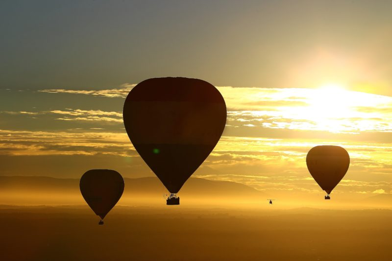 Melbourne and Yarra Valley Hot Air Ballooning