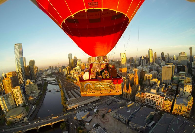 Melbourne hot air balloon flight with Picture This Ballooning