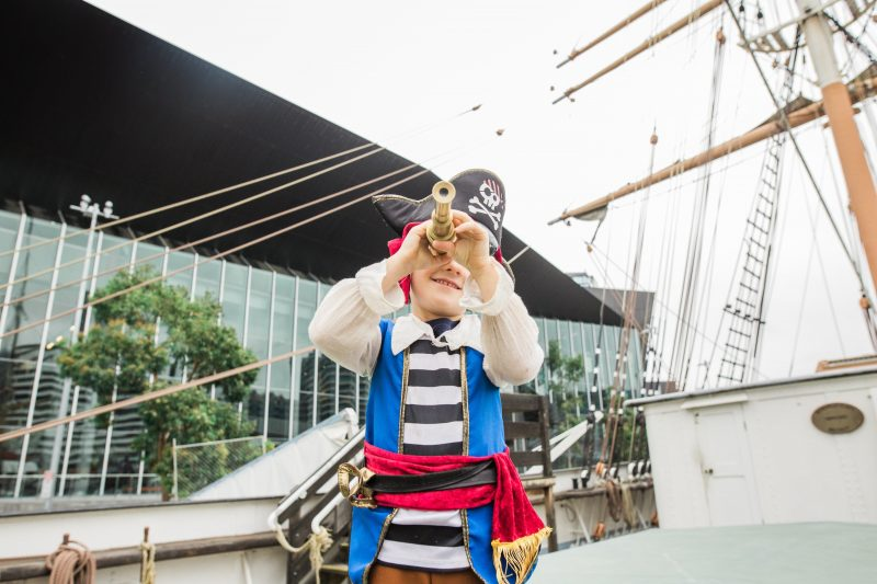 Pirate Day at Polly Woodside