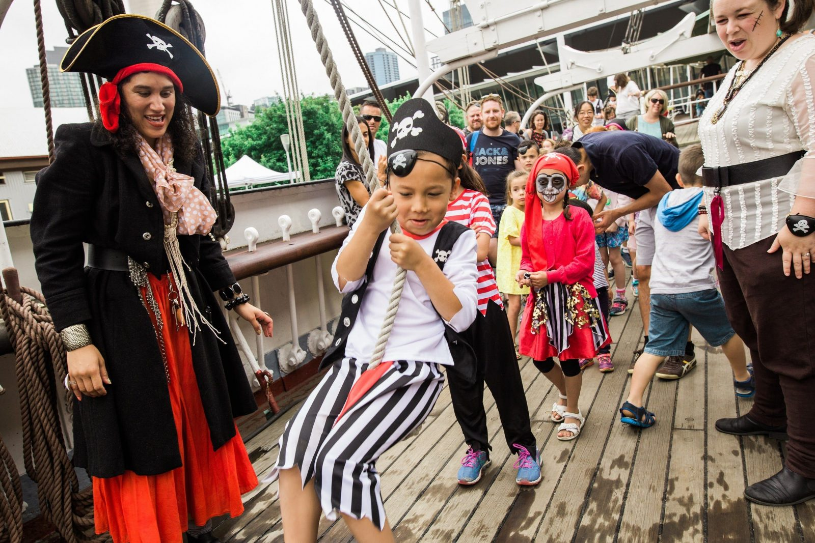 Pirate Sunday at Polly Woodside