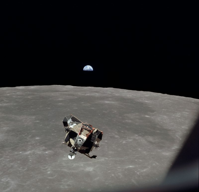 NASA Goddard Space Flight Centre Apollo 11 Lunar Module ascent