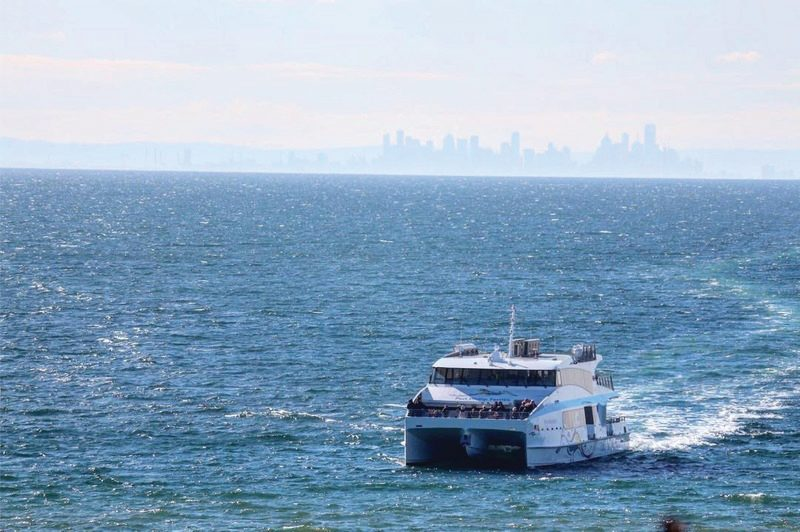 The city and the coast just got closer with Port Phillip Ferries