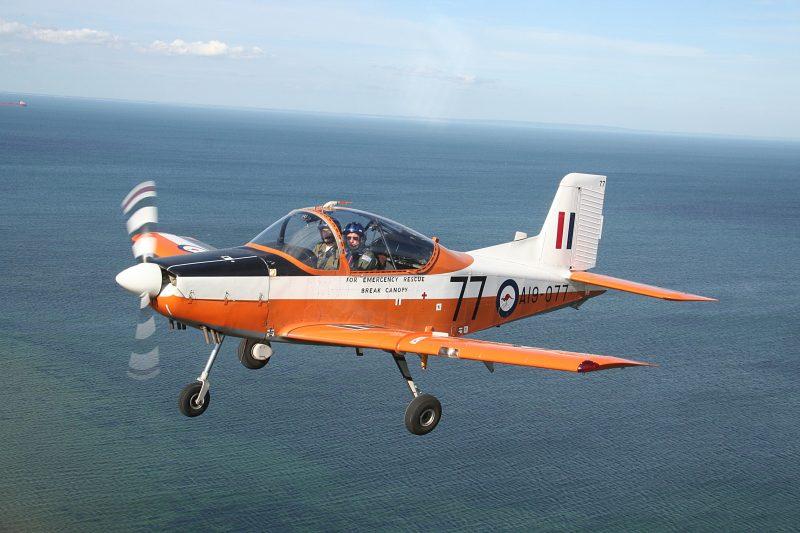 CT4 in flight