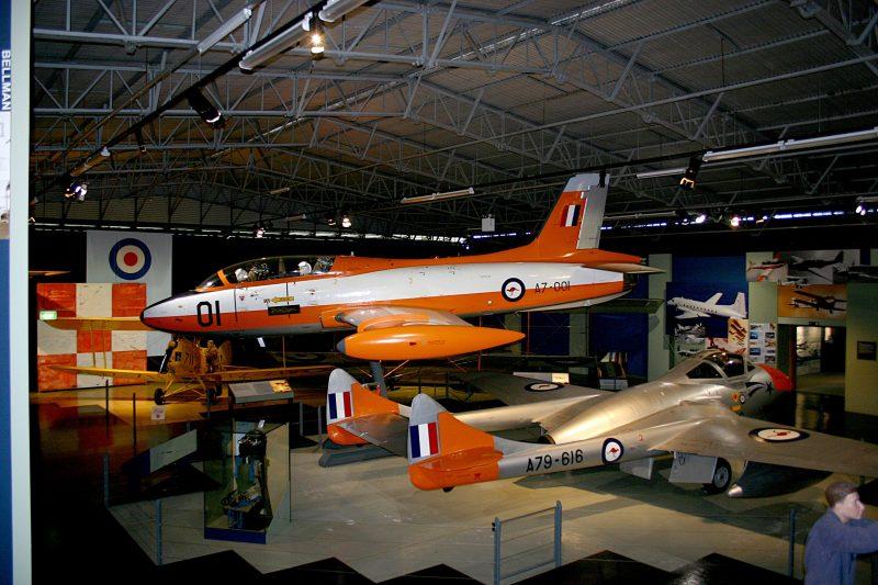 Training Hangar display - Macchi aircraft