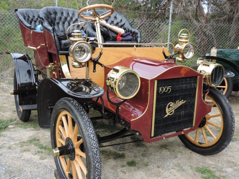 This is a 1905 single cylinder Cadillac