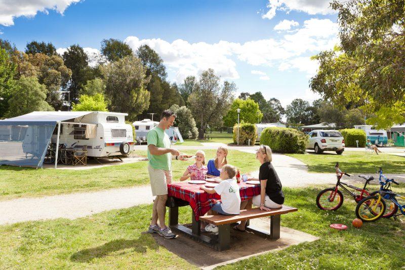 Picnic in the Caravan Park