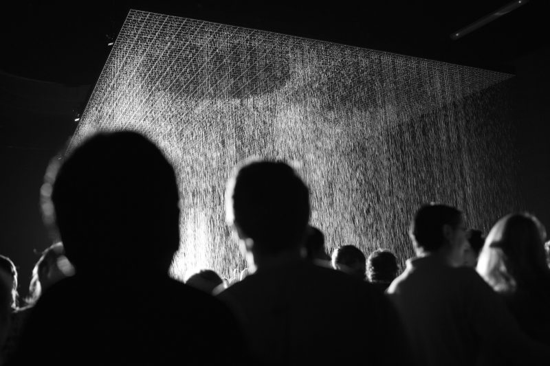Random International's Rain Room, coming to Melbourne for a limited time