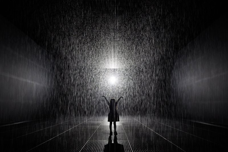 Rain Room at Jackalope Pavilion