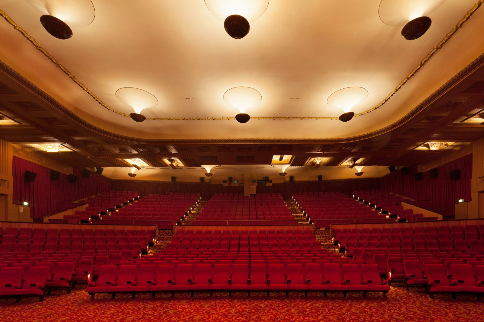 The historic Cinema 1, Seating 700+ admits