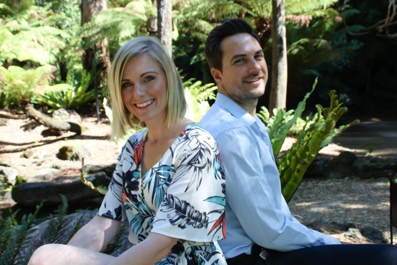 Melanie Whillance and Dr Peter Bouris