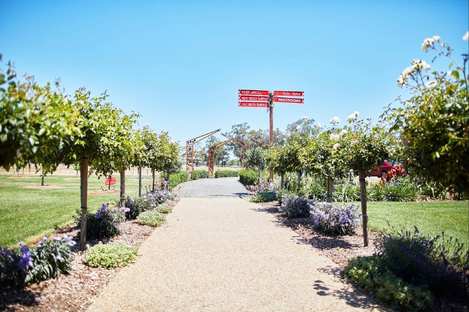 Estate Walkway Entrance