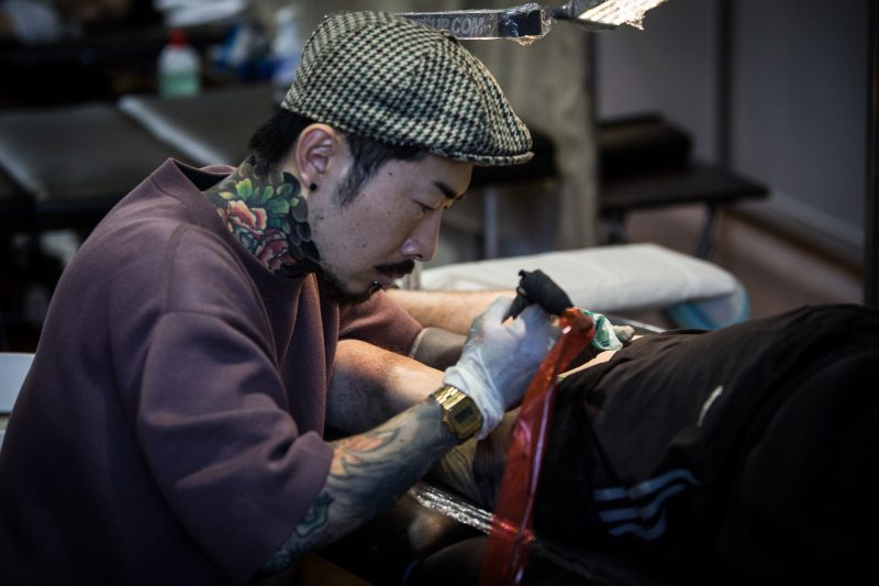 Get tattooed on the spot!