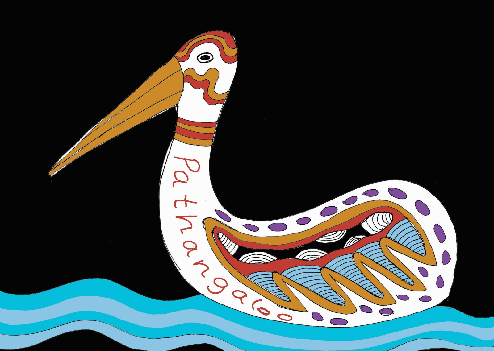 River of Language Pelican