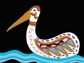 River of Language Pelican
