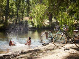 Cycle, swim and kayak