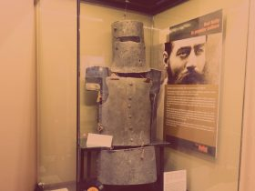 Armour from Ned Kelly (1970), Burke Museum