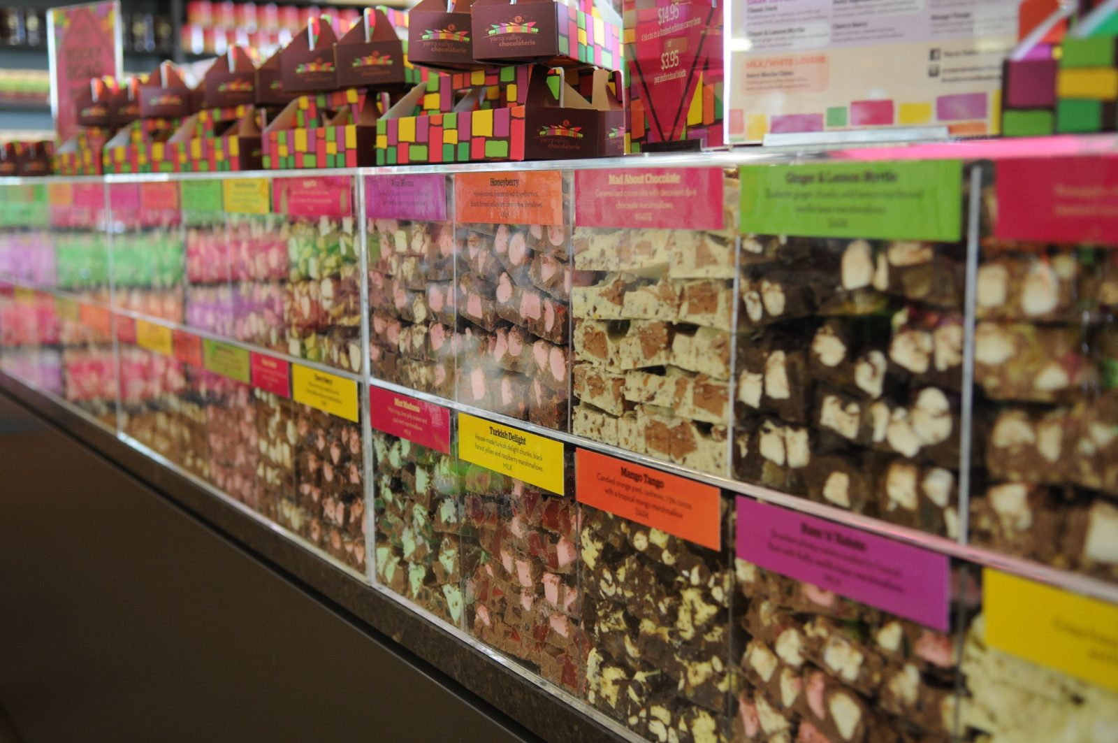 Rocky Road Display Case
