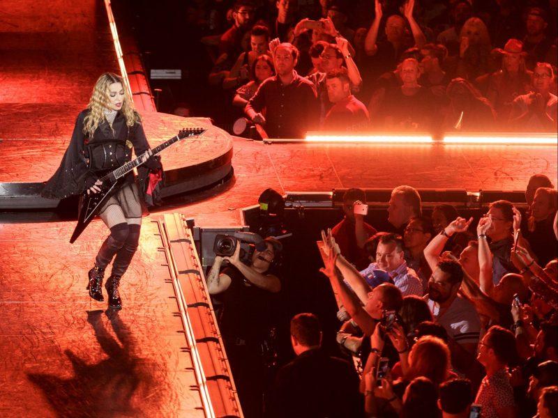 Madonna at Rod Laver Arena