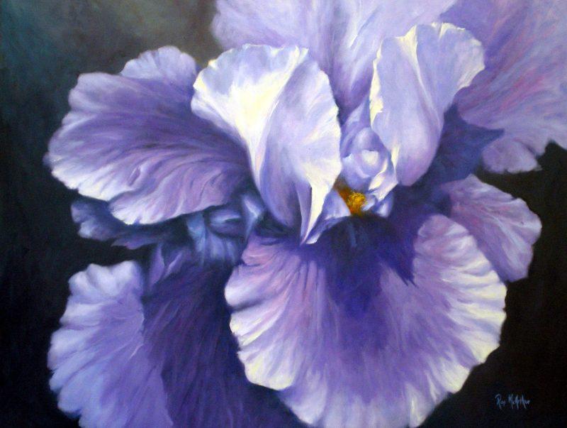 Ïris in Blue - Ros McArthur