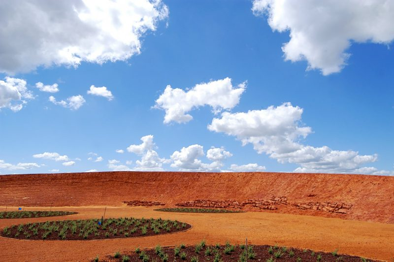 The Red Sand Garden