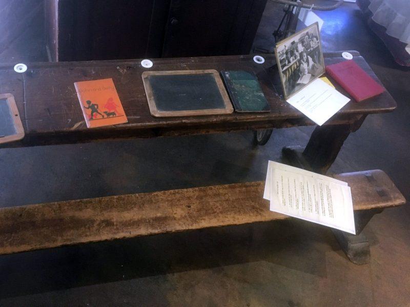 Rare four seat desk