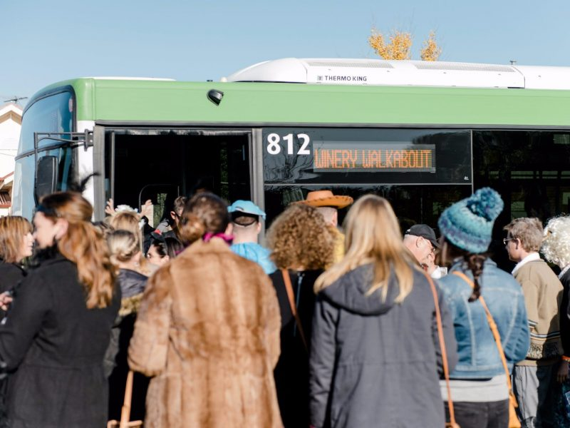 Winery Walkabout Shuttle Bus