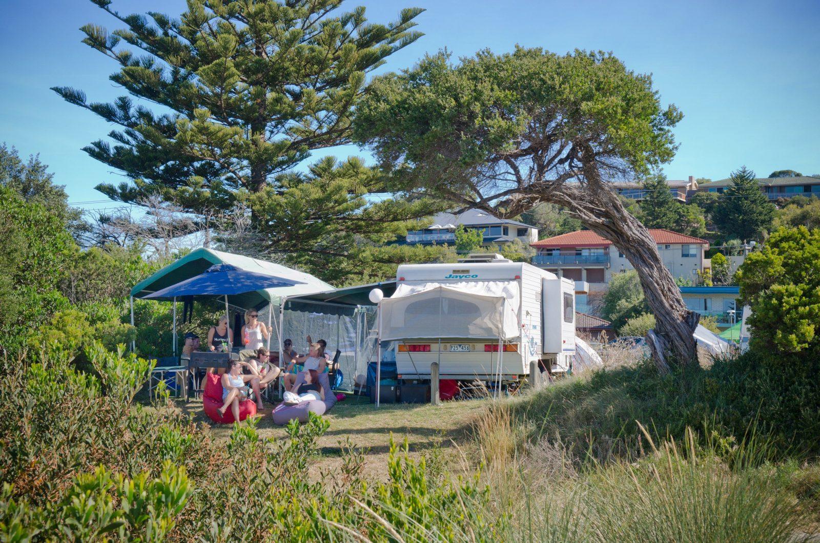 Rye Foreshore Camping
