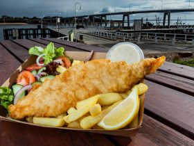 Fish and chips Phillip Island San Remo