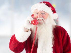 Santa's Red Telephone Box