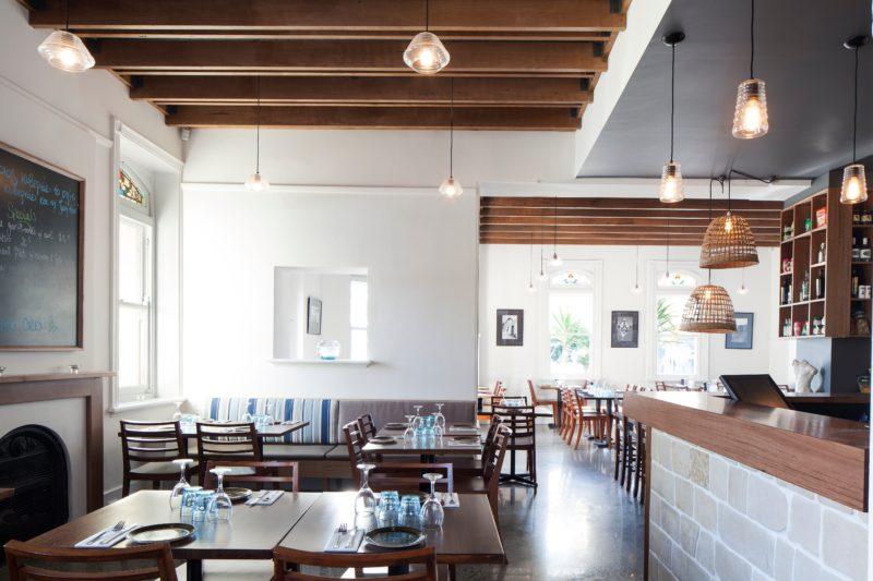 Inside Santorini Restaurant