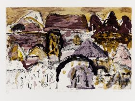 Elisabeth Cummings, Arkaroola Morning, Ed 25, 2009 - 33x49.5cm