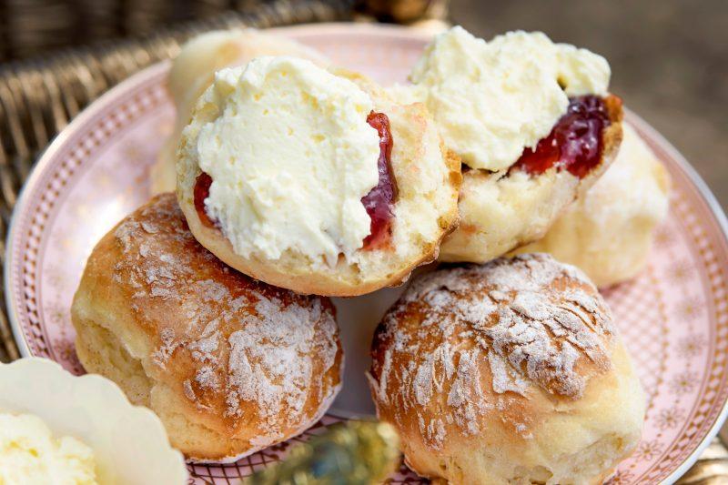 Enjoy some of scrumptious scones