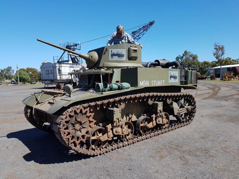 A Stuart tank