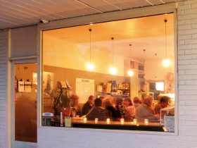 Guests enjoying our intimate Seasonal Dinners.