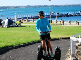 Cruising on the Geelong Waterfront