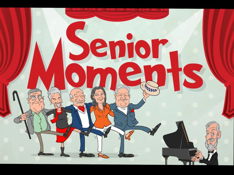 A deliciously funny and fresh collection of comic senior moments