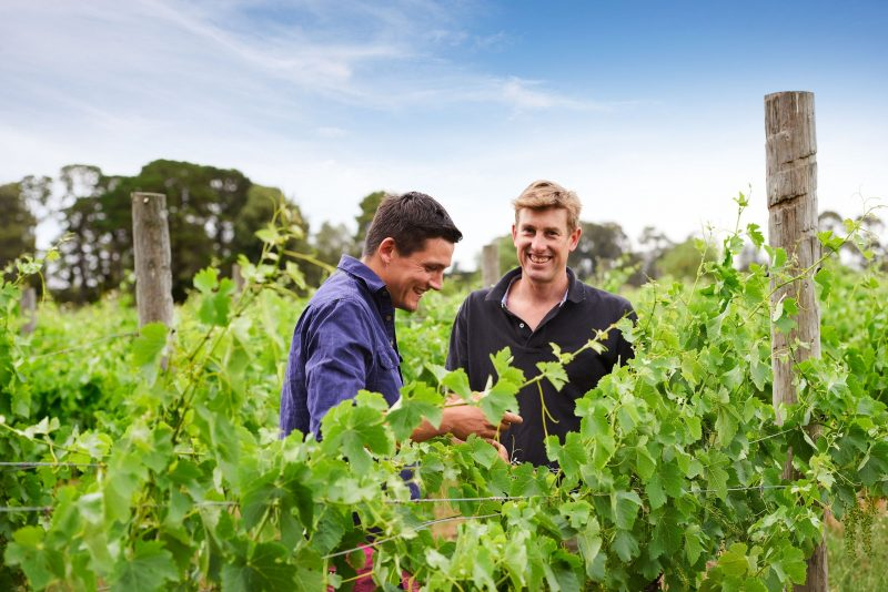 Winemakers Simon Langton & Alister Timms