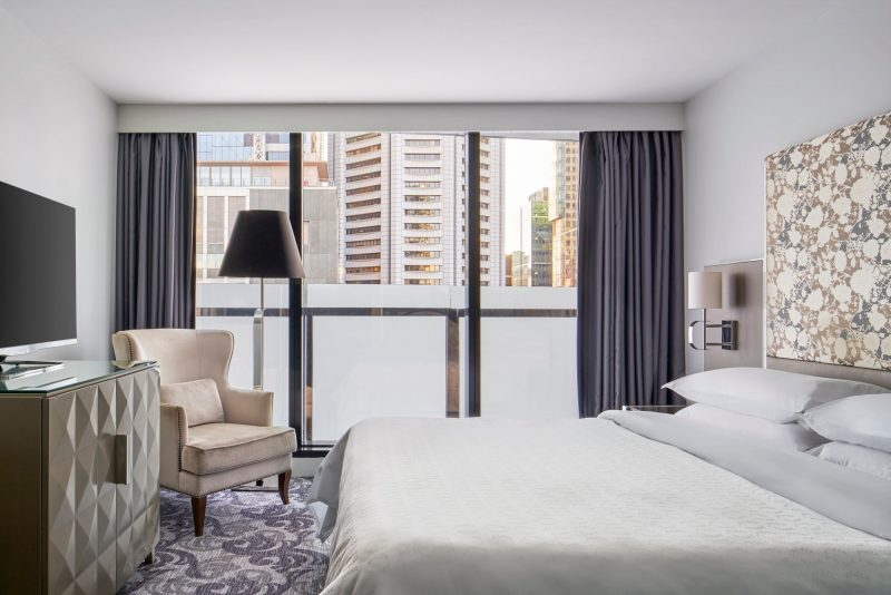 Superior Room at Sheraton Melbourne Hotel