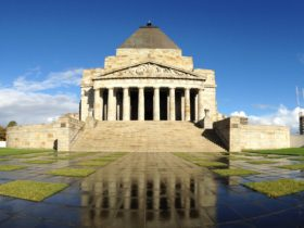 Shrine of Remembrance - Northern Aspect