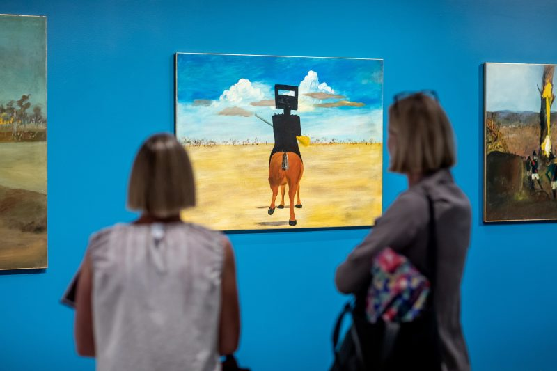 Sidney Nolan's Ned Kelly series