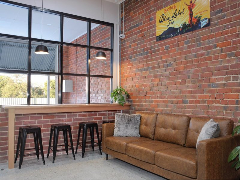 The Silver Key Cafe Couch area